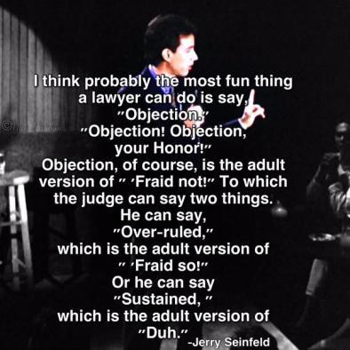 SeinfeldObjection